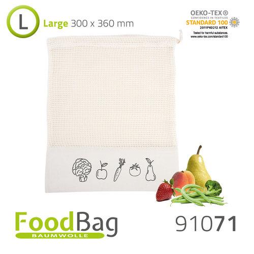 Obst- und Gemüsebeutel / Baumwolle
