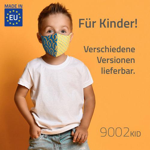 Alltagsmaske für Kinder mit All-Over Druck