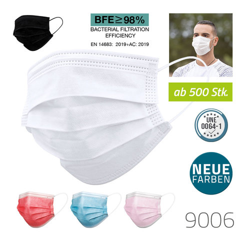 Einwegmaske 3-lagig (OP-Maske)