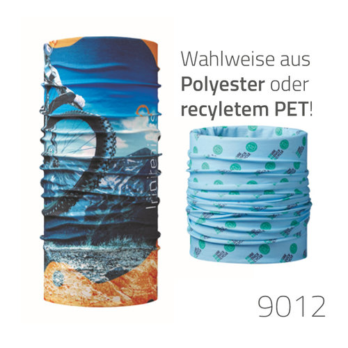 Multifunktions-Schal - Polyester oder rPET