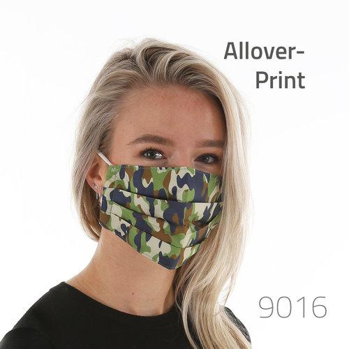 Hygiene-Maske mit All-Over Druck