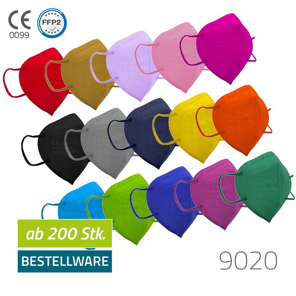 Einwegmaske FFP2 NR - 15 Farben