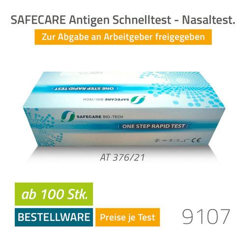 SAFECARE COVID-19 Antigen Schnelltest - Nasal