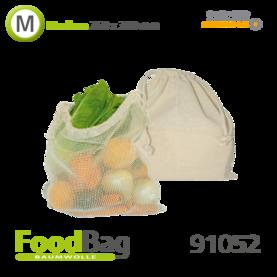 "Foodbag ""M"" Baumwolle / Baumwoll-Netz"